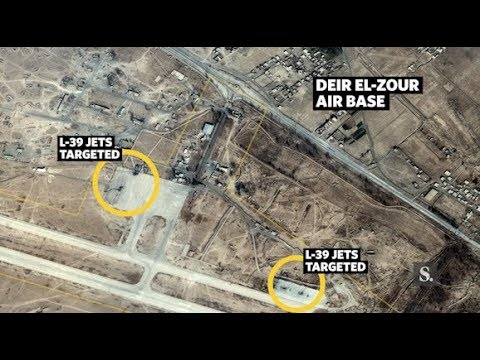 Satellite Imagery: the Islamic State's Attack on a Syrian Air Base