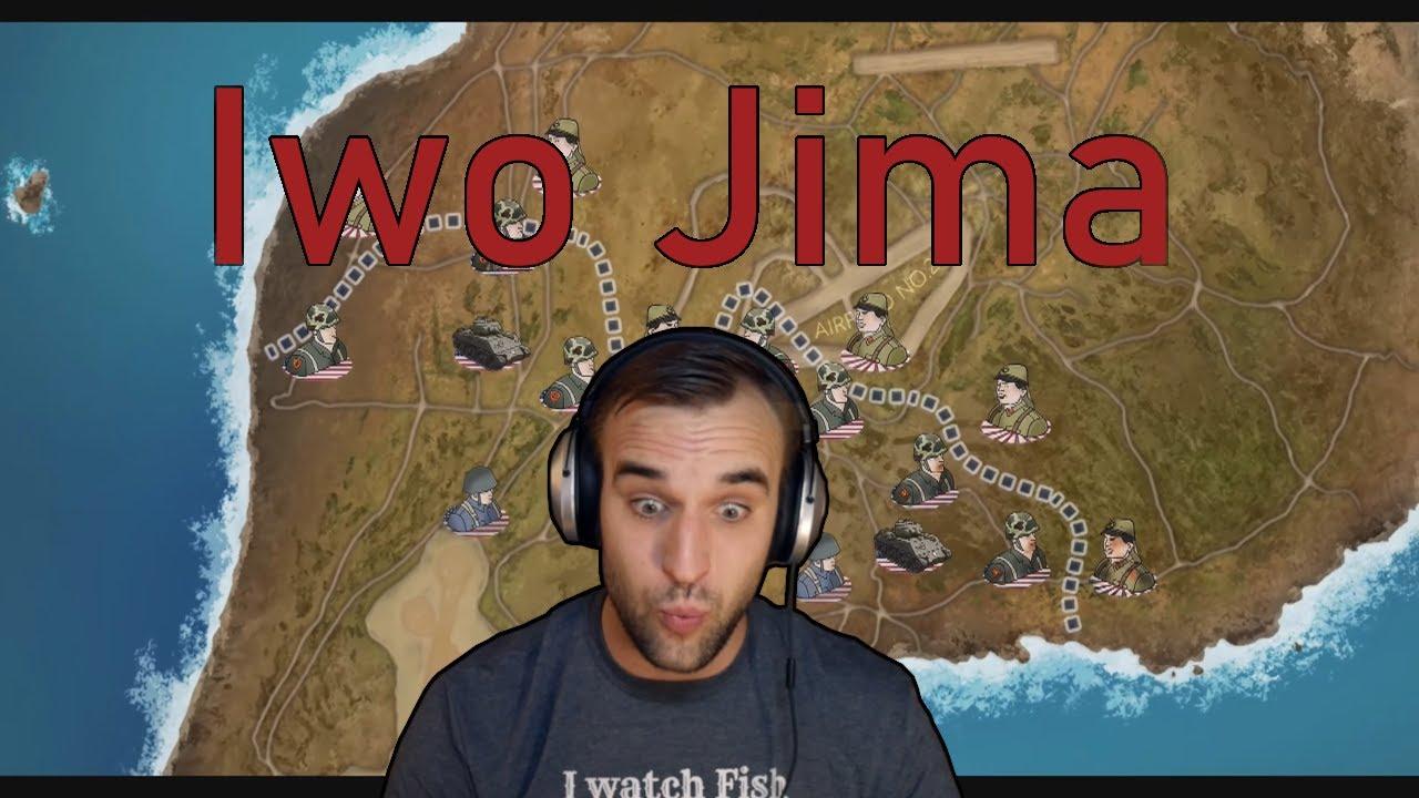 Estonian Soldier reacts to the battle of IWO JIMA