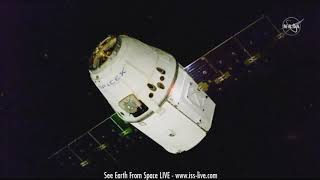 SpaceX Dragon CRS 16 Docking With The ISS