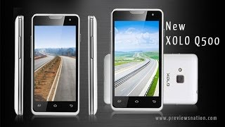 Xolo Q500 Features