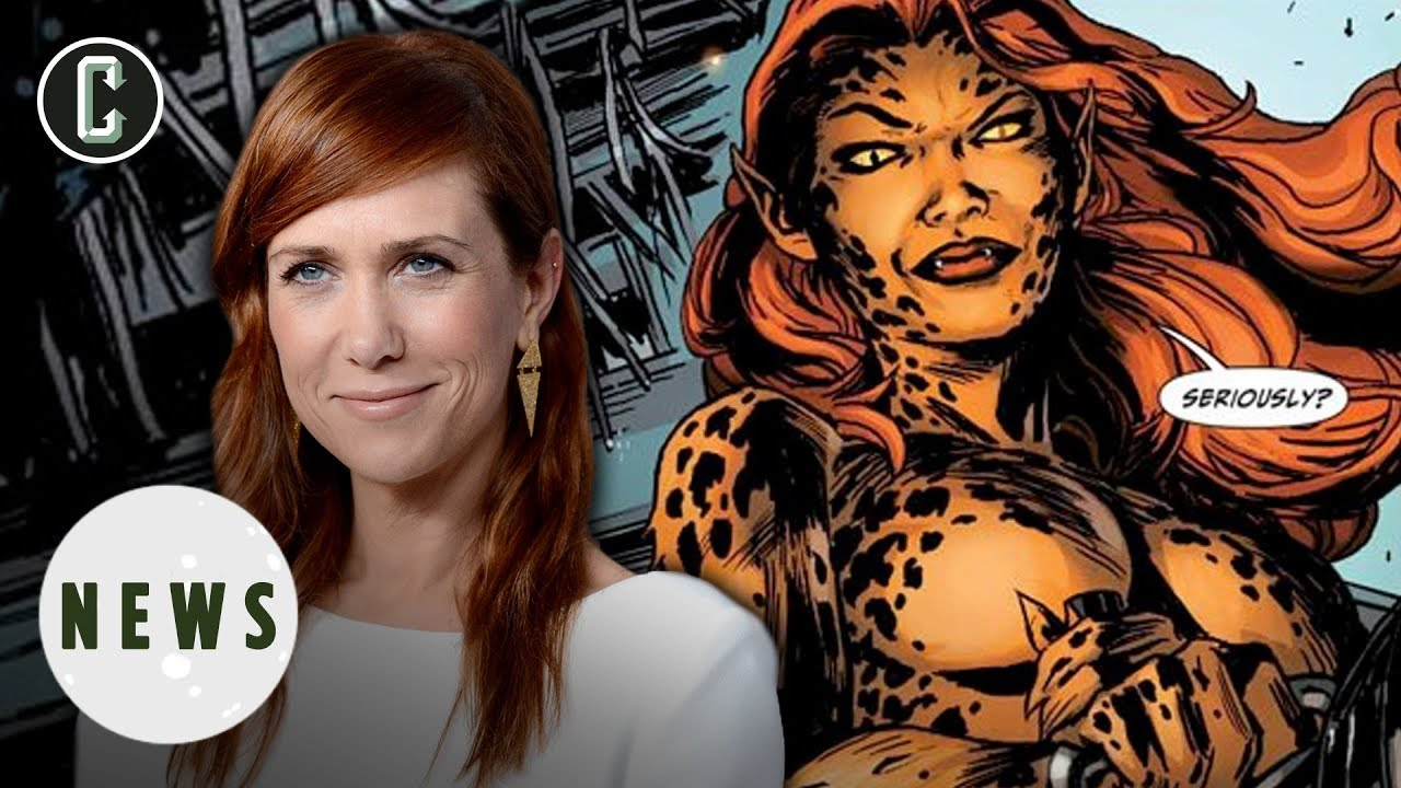 Kristen wiig is going to play cheetah in wonder woman