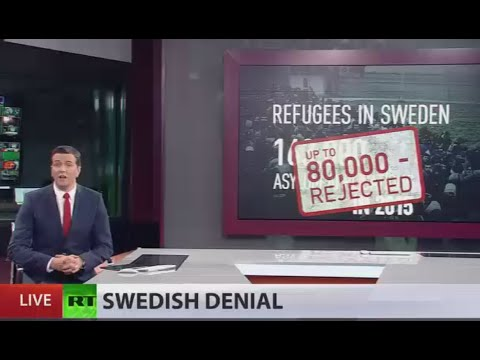 Sweden 'to kick out' 80,000 asylum seekers amid migrant-linked violence