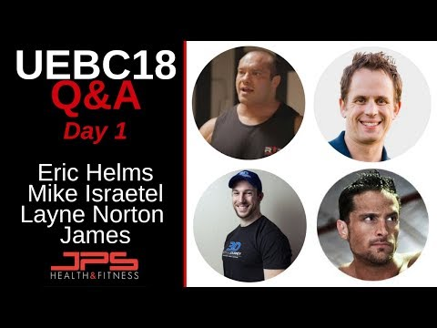 Q&A with Eric Helms, Mike Israetel, Layne Norton & James Kreiger