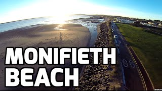 DJI Phantom 2 Drone + GoPro : Monifieth Beach / Park Dundee Scotland