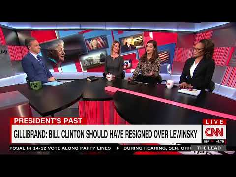 CNN Reporter: After Gillibrand, Other Dems Should Be Asked If Bill Clinton Should Have Resigned