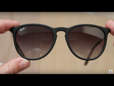 c17e8f5426355 Ray Ban Erika Classic Black - YouTube