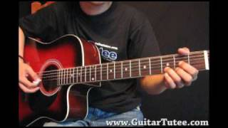 Miley Cyrus - Simple Song, by www.GuitarTutee.com