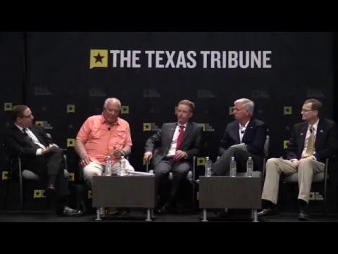 Gulf Coast mayors discuss the impact of Hurricane Harvey