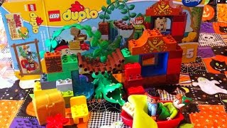 LEGO Pirate Jake and The Never Land Pirates and Peter Pan Building the Toy
