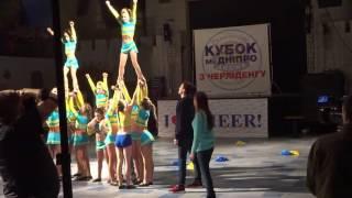Супер Выступление команда Экстрим. Super Performance Cheerleading.