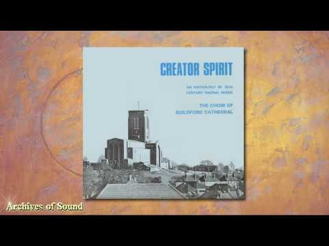 """""""Creator Spirit"""" LP 1969 - Guildford Cathedral Choir (Barry Rose)"""