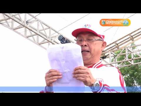 10 Sep 2017 Gub Djarot S. Hidayat Membuka acara Kebayoran Lama Fun Walk