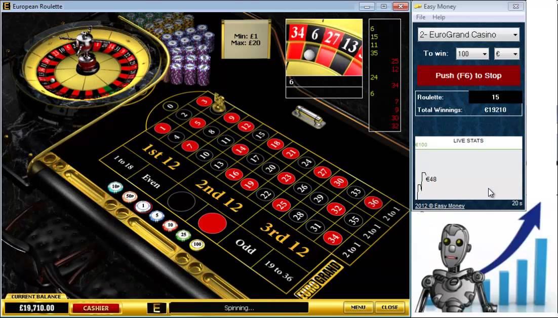 Roulette bot plus casino list
