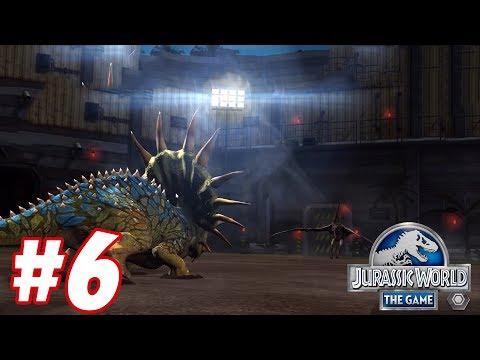 TRICERATOPS vs TAPEJARA : Trò chơi nuôi khủng long đánh nhau - Jurassic World The Game #6