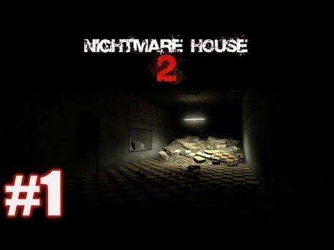 Прохождение хоррор игры! Дом кошмаров 2!!! #1 серия! (Начало!)