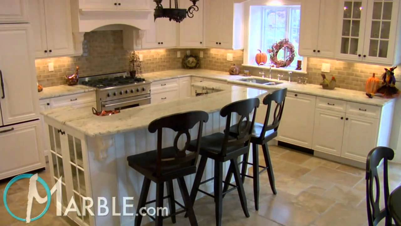 Colonial Gold Granite Kitchen
