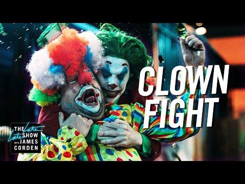 Regular Clowns Brawl with Pennywise & Joker