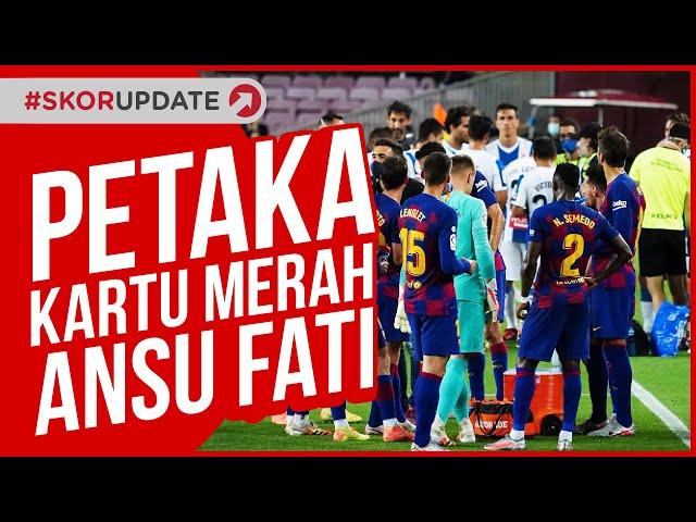 KUNGFU ANSU FATI DIHADIAHI KARTU MERAH!!