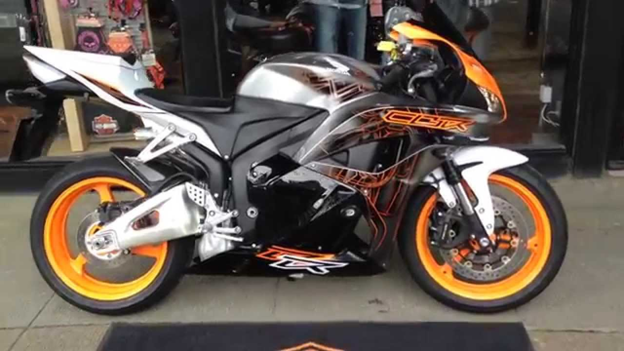 2011 Honda Cbr600rr West Coast Harley Davidson Glasgow Scotland Youtube