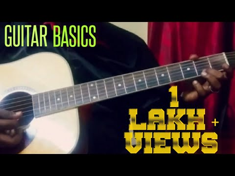How To Play Guitar Lesson #1-Awesome Tamil Guitar Tutorial