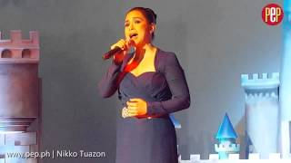 "Lea Salonga performing the full version of ""Reflection"""