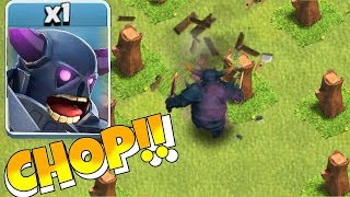 "SUPER WOOD CHOPIN' MACHINE!! ""Clash Of Clans"" TROLL BROS!!"