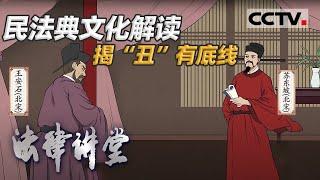 """《法律讲堂(文史版)》 20210108 民法典文化解读·揭""""丑""""有底线  CCTV社会与法 - YouTube"""