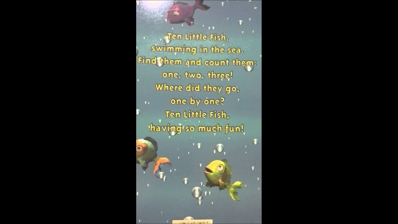 Ten little fish youtube for Ten little fish