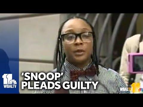 'Snoop' Pearson Pleads Guilty