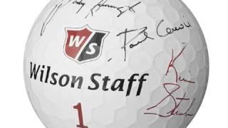 Wilson Jumbo Oversize Autograph Golf Ball Inflatable
