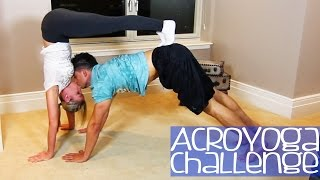 ACRO YOGA CHALLENGE(Dope Fresh Nation T-Shirts - http://PrankvsPrankGear.com Follow us on Twitter: http://twitter.com/PhillyChic5 http://twitter.com/JesseWelle Follow us on ..., 2014-07-21T18:48:31.000Z)