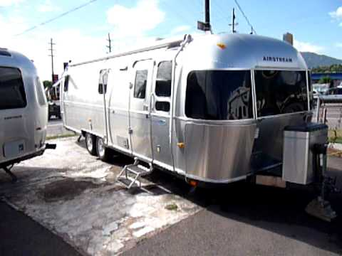 2005 Airstream Classic 28 Travel Trailer For Sale Youtube