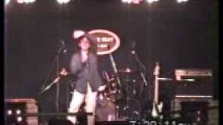 2008/06/14@AFTER BEATより この日初披露のこの曲は初挑戦のラップ.