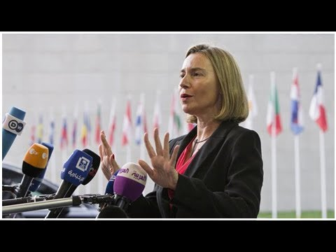 Keeping Iran nuclear deal in place vital for EU: Foreign Policy Chief Mogherini