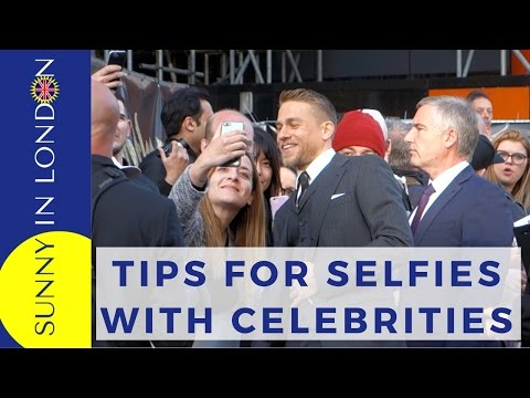 LONDON FILM PREMIERE TIPS - HOW TO SEE MOVIE STARS AND GET SELFIES!