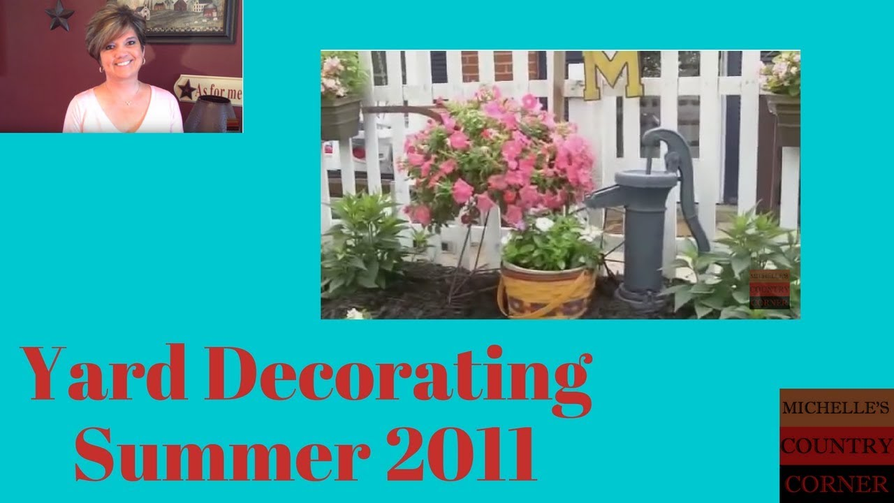 Country Decorating Ideas Outdoor Yard