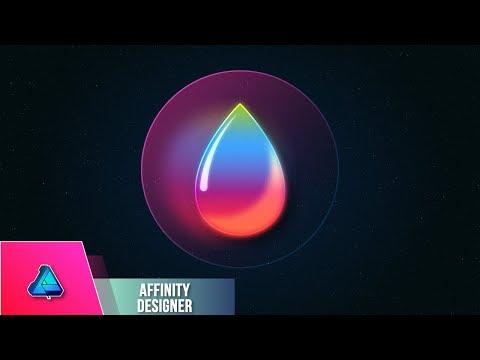 Drop Planet Icon Designer Affinity Designer
