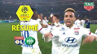 Olympique Lyonnais - AS Saint-Etienne ( 2-0 ) - Résumé - (OL - ASSE) / 2019-20