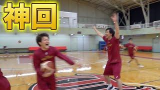 【ガチの神回】プロバスケ選手はどれくらい後ろからシュートが決まるのか検証した結果....