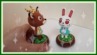 클레이로 동물의 숲 피터 만들기 / Animal Cro…
