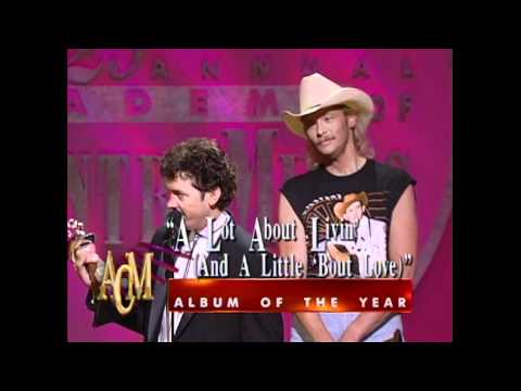 "Alan Jackson Wins Album of the Year For ""A Lot About Livin'"" - ACM Awards 1994"