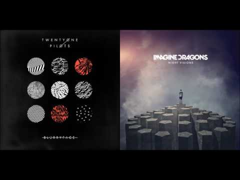On Top Of The Judge - twenty one pilots vs Imagine Dragons (Mashup)