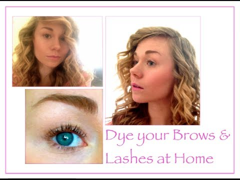 Beauty Enhance/DIY: How to Dye your Eyebrows and Eyelashes ...