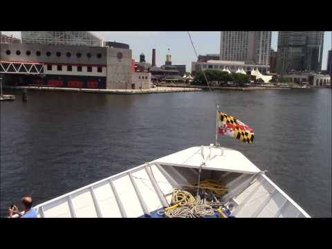 The Baltimore Inner Harbor Cruise Complete Tour Part 1