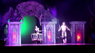 "Duo ""Carisma"" Gaucho Bombo Boleadoras Alena and Artem Panama Vampire circus"