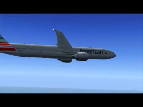 AA101 777-300ER AMERICAN AIRLINES LONDON - NEW YORK JFK
