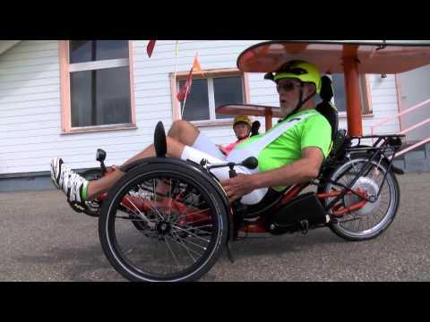 Ils inventent le vélo solaire