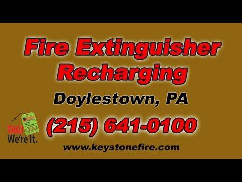 Fire Extinguisher Recharging Doylestown PA