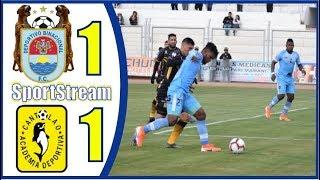 ANALISIS ⚽️ Deportivo Binacional vs Academia Cantolao ⚽️ Clausura 2019 - Liga 1 Peru Cup