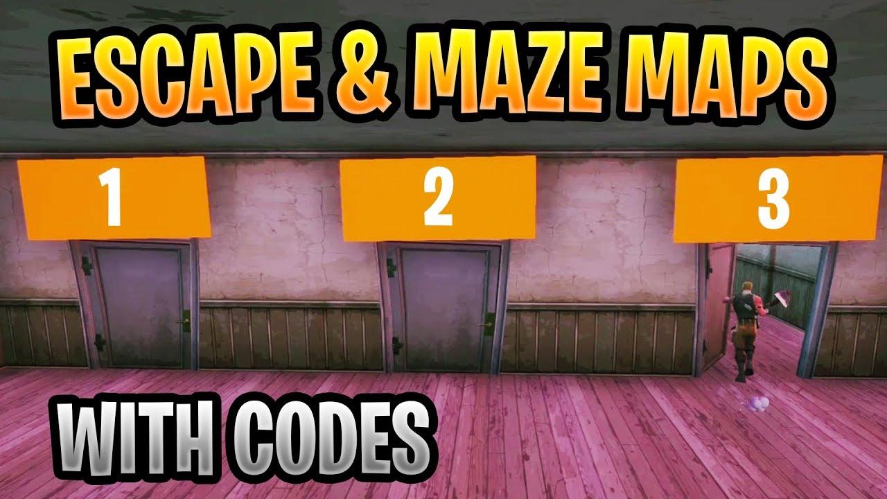fortnite escape maze maps with codes feat memory quiz riddle maze 2 - fortnite creative codes memory quiz